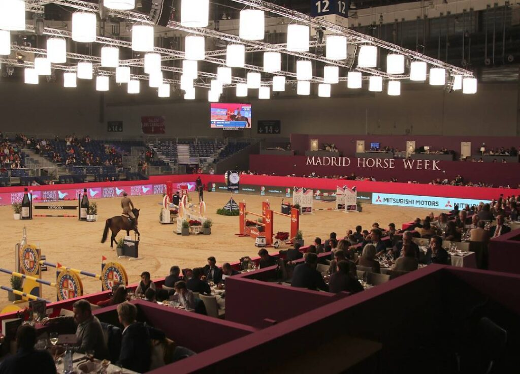Vilaplana en el Madrid Horse Week