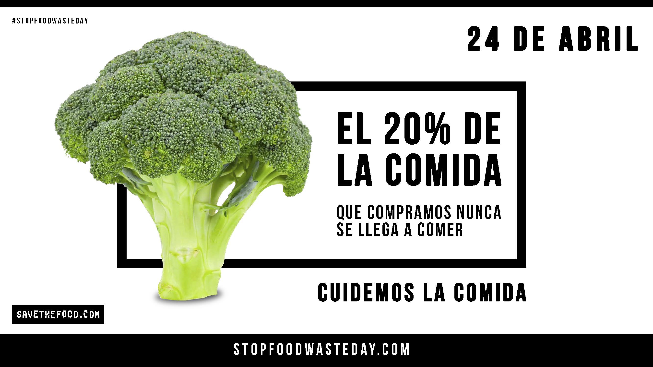 Stop Food Waste Day. Trabajamos para disminuir el desperdicio alimentario